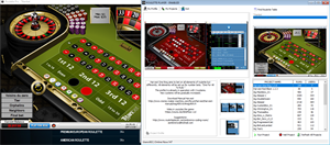 roulette player software screen